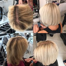 Lily blonde hair edgware hair dressing near me