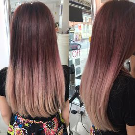Balayage umbre edgware Hair dressing near me hair course