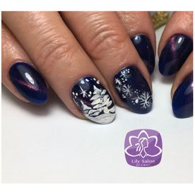 christmas nail art design north london edgware nails near me